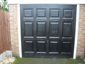 J C Joinery Garage Doors Fitted Sectional Electric